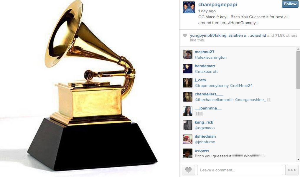 Hood Grammy