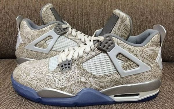 Air Jordan 4 Retro '30th Anniversary' Reflective Laser
