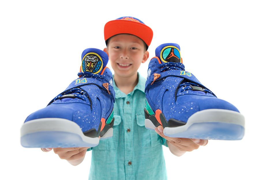 "Air Jordan 8 ""Doernbecher"" 1"