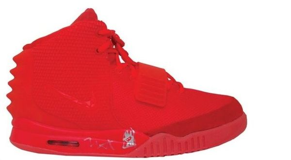 Autographed Yeezy II 'Red Octobers' To Be Auctioned Off