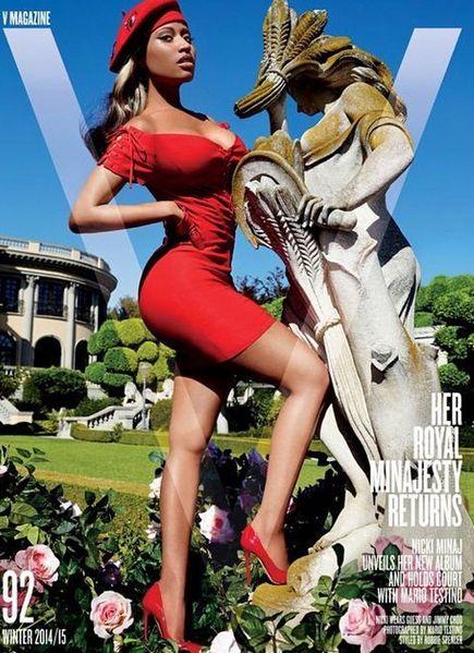 Nicki V cover