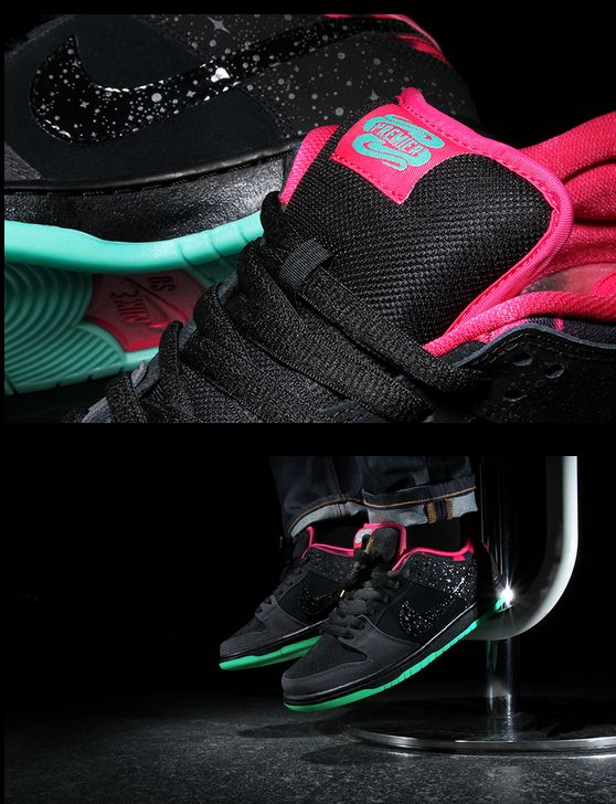 new concept 1781c 48a62 Premier x Nike SB Dunk Low 'Northern Lights' :: Hip-Hop Lately