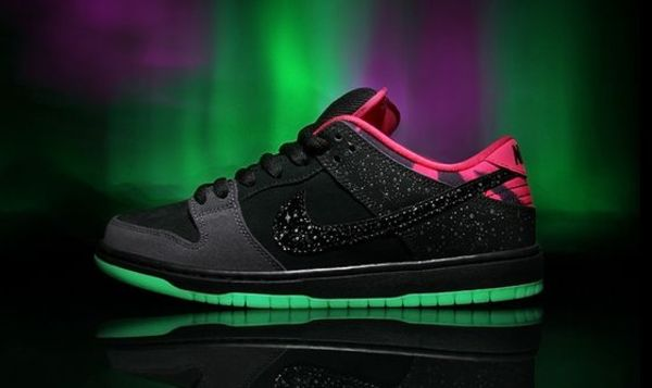 Premier x Nike SB Dunk Low 'Northern Lights'