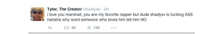 Tyler tweet
