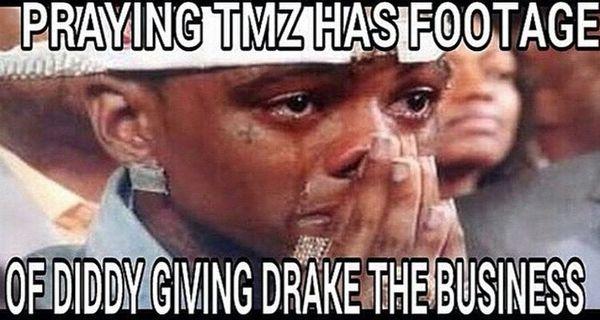 Diddy Punching Drake Memes