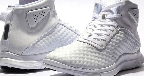 45f36fe406e4 Social Media The Nike Free Hypervenom Mid  Triple White