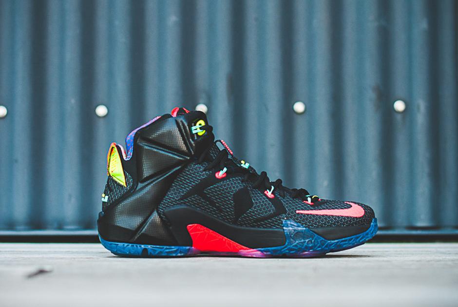"Nike LeBron 12 ""Data"""