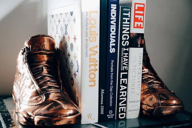 Bronze Air Jordans by MSenna