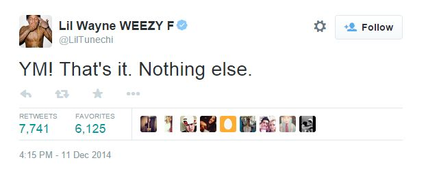 Wayne tweet
