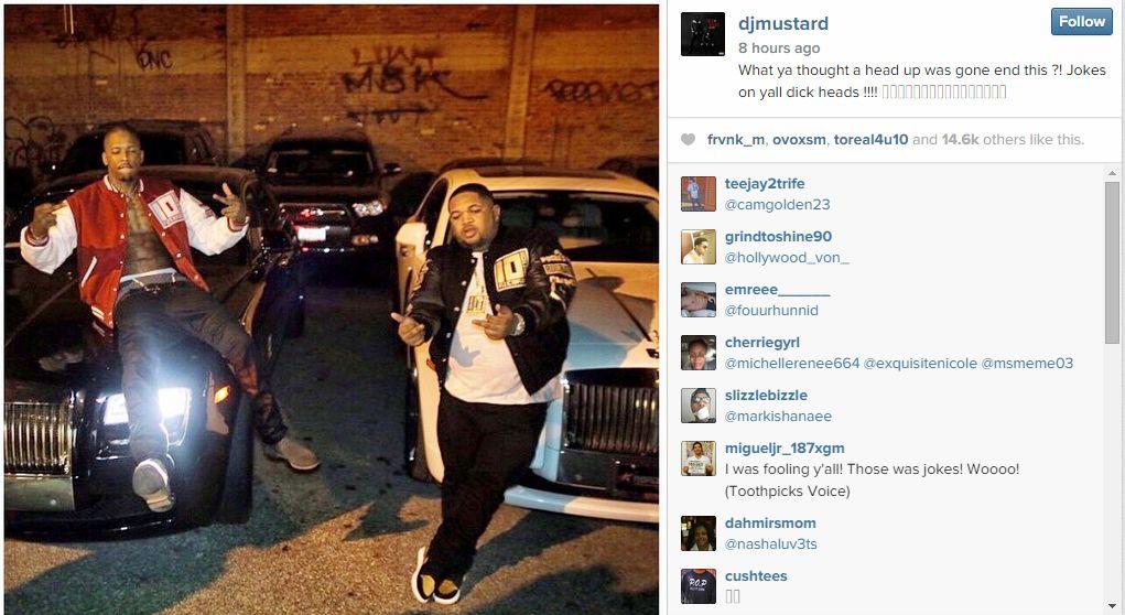DJ mutard instagram
