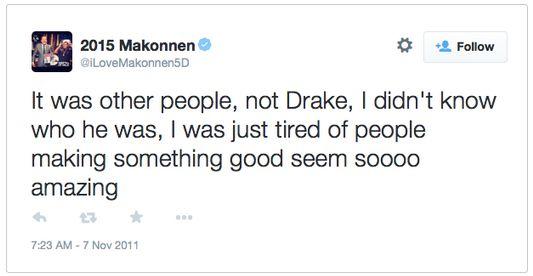 Drake tweet 2