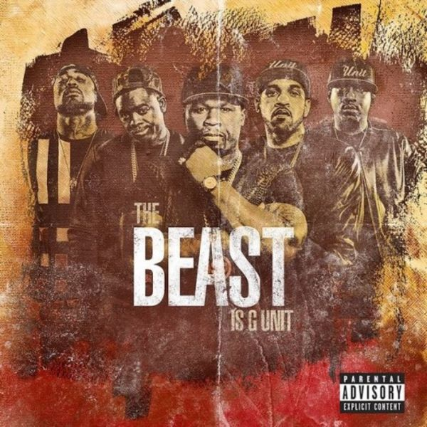 G-Unit's 'The Beast Is G-Unit' EP Cover