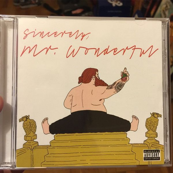 Action Bronson's 'Mr. Wonderful' Album Cover