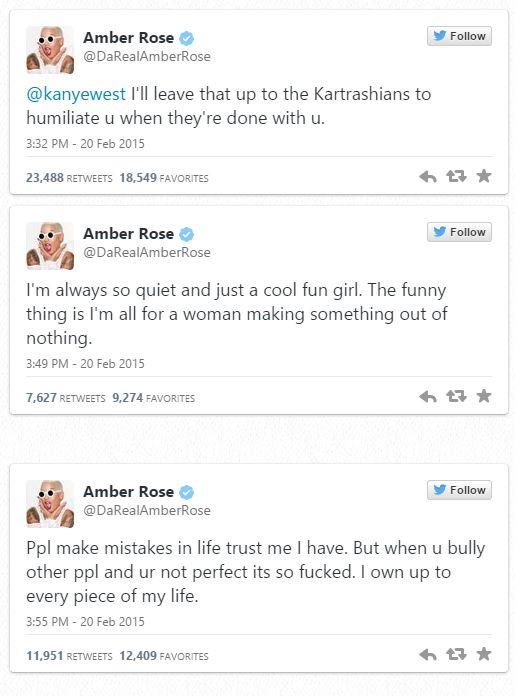 Amber rose tweet 2