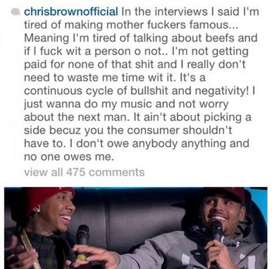 Chris Brown IG