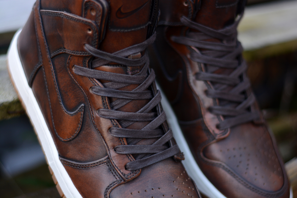 "Nike Dunk Lux High ""Burnished Leather"""