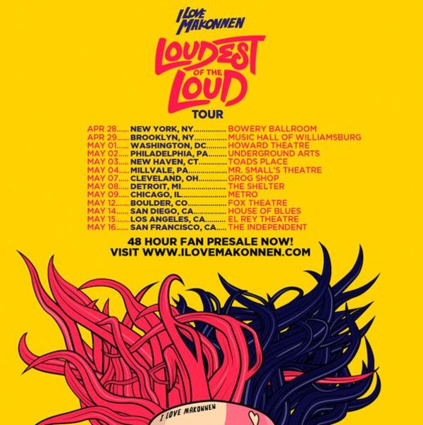iLoveMakkonen Announces 'Loudest Of The Loud' Tour Dates