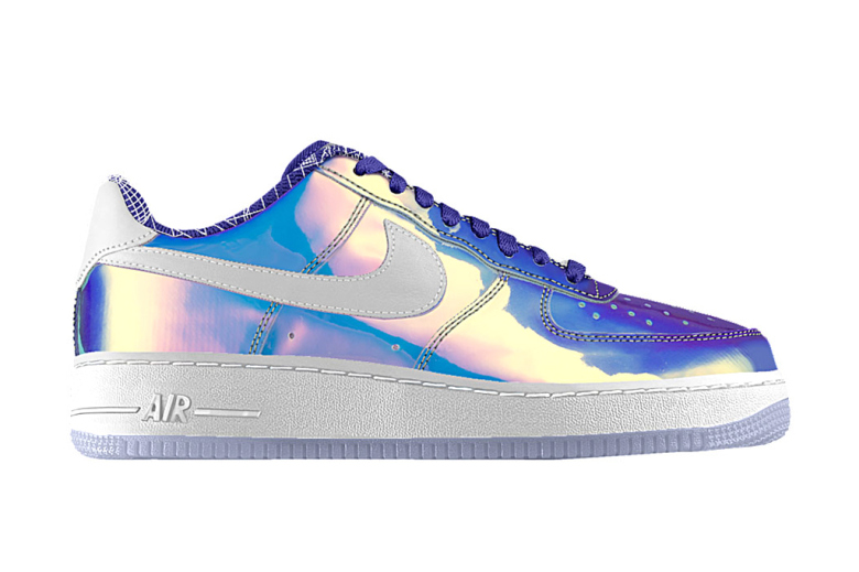 "Nike Air Force 1 iD ""Iridescent"" Option"