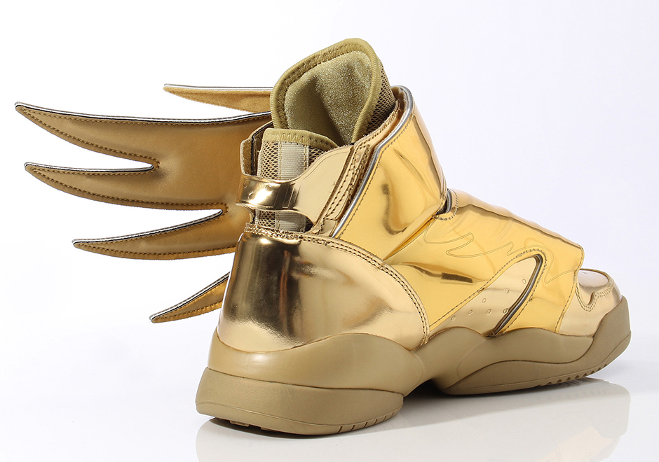 Jeremy Scott x adidas Originals JS Wings 3.0 Gold    Hip-Hop Lately 0ee3a051fc