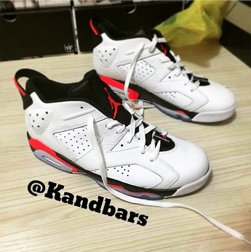 "Air Jordan 6 Low ""White Infrared"""