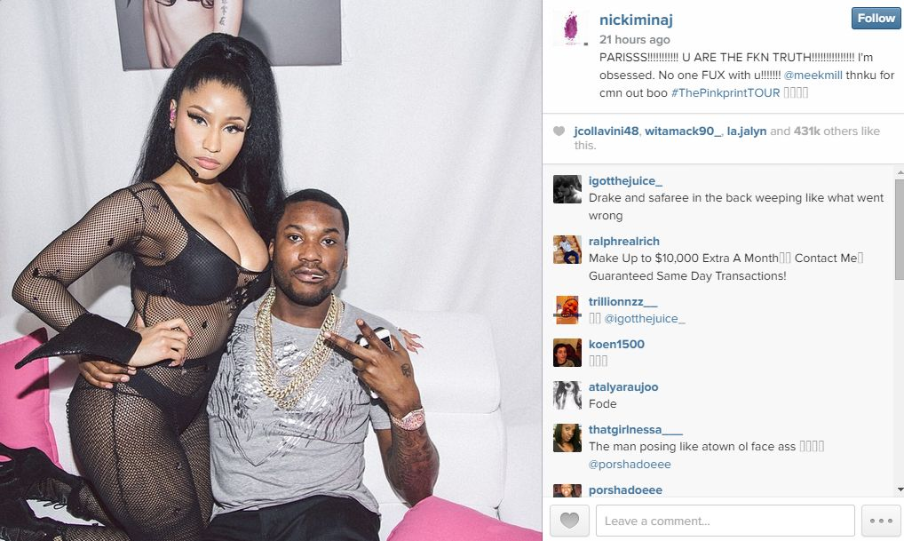 Nicki Meek Instagram 2