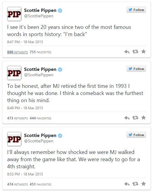Pippen tweet