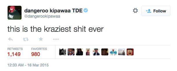 TDE Tweet 1