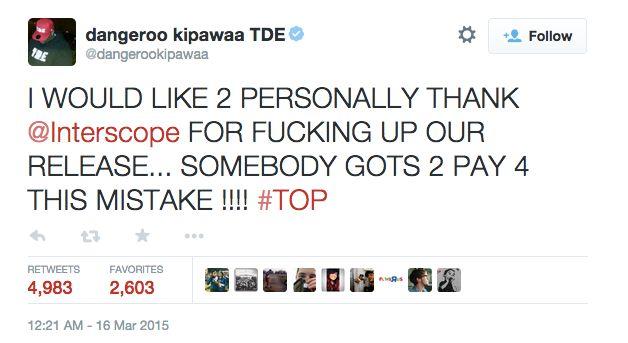 TDE Tweet