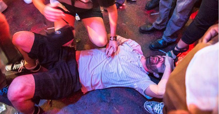 Wayne knocked out
