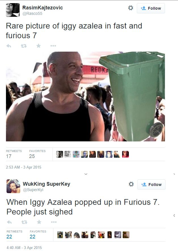 Iggy Furious 6
