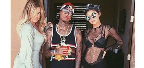 Kylie Jenner Does Cat Suit Thing For Coachella With Tyga, Bikini Thing Before