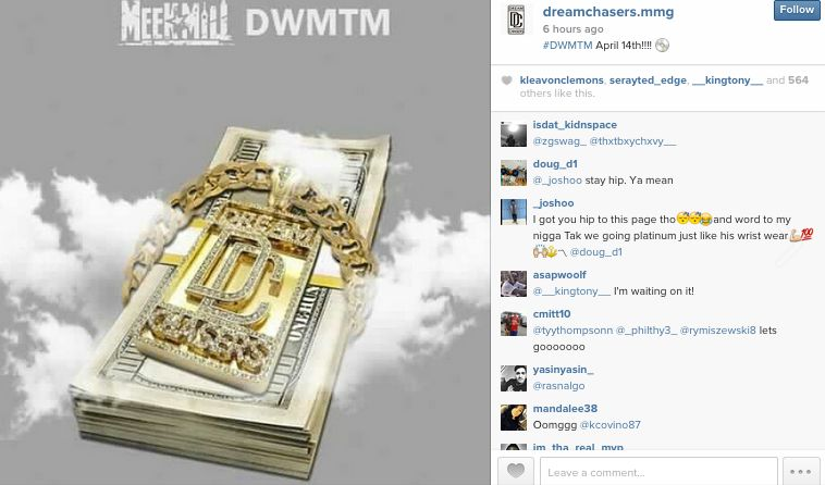 Meek Mill intagram
