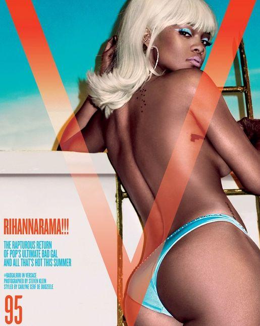 Rihanna V Cover