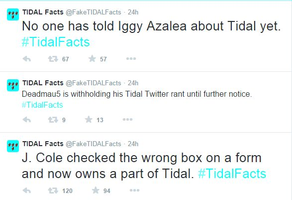 Tidal Facts 3
