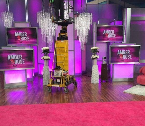 Amber Rose Talk Show host