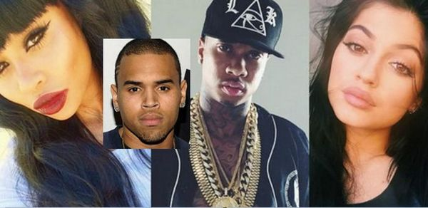 Chris Brown Jumps In The Tyga/Blac Chyna/Kylie Jenner Triangle