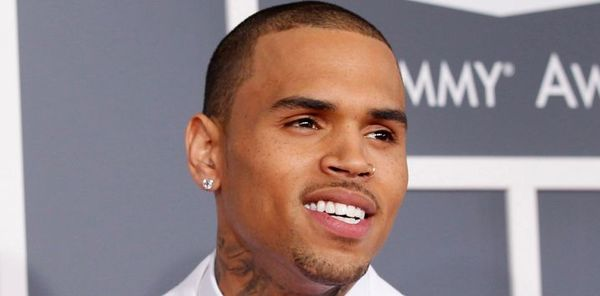 Watch Chris Brown Fall Off Of The Stage