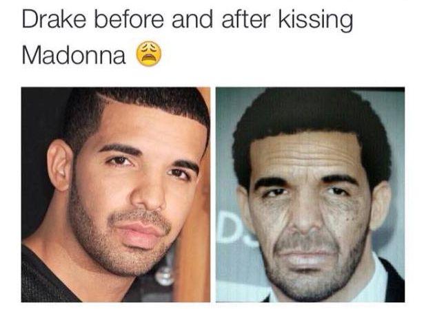 Drake Madonna Meme