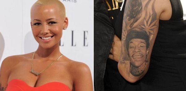 Amber Rose Shows Off New Tattoo Where Wiz's Face Used To Be