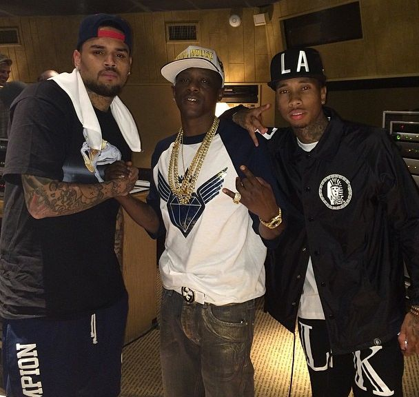 Chris Brown Tyga Boozie Badass