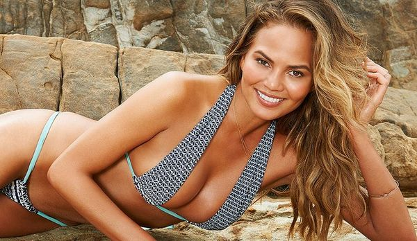 Chrissy Teigen Tests Instagram's Nude Policy With Stray Nipple