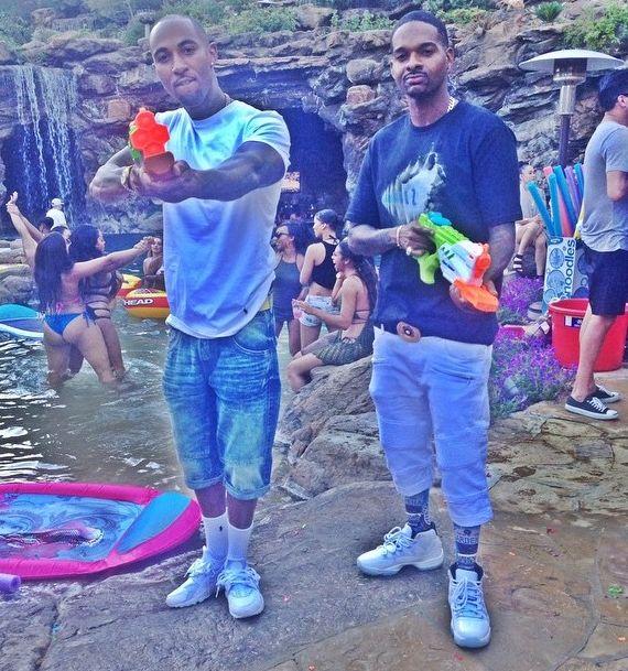 Drake foam party 4