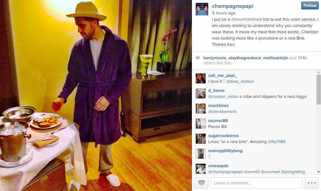 Drake Instagram two
