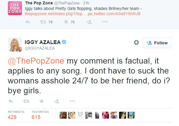 Iggy suck ass