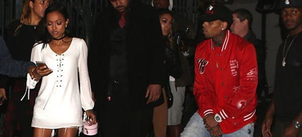Karrueche Can't Quit Chris Brown (Update: Yes She Can)
