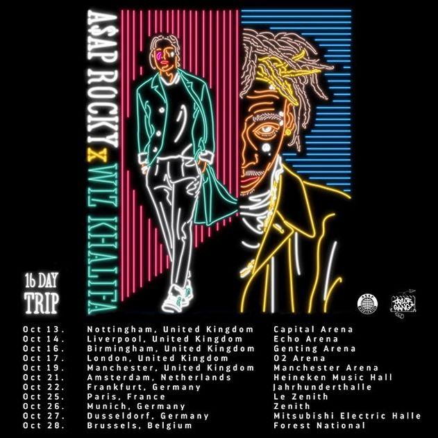 Rocky wiz tour