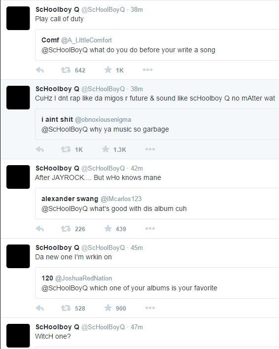 Schoolboy Q twitter