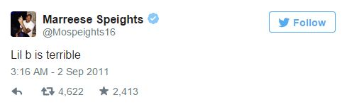 Speights tweet