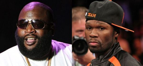 Rick Ross Mocks 50 Cent's Financial Woes On 'Wing Stop' Remix