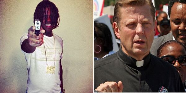 Rev. Michael Pfleger Rips Chief Keef For Planning Benefit Concert